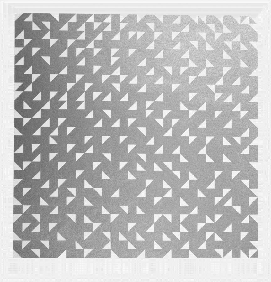 Anni Albers, Triangulated Intaglio from the Connections portfolio