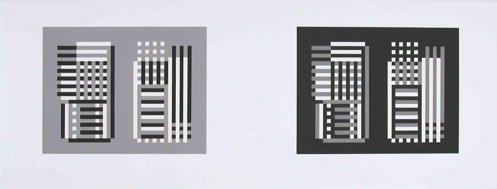 Josef Albers, Multiplex B